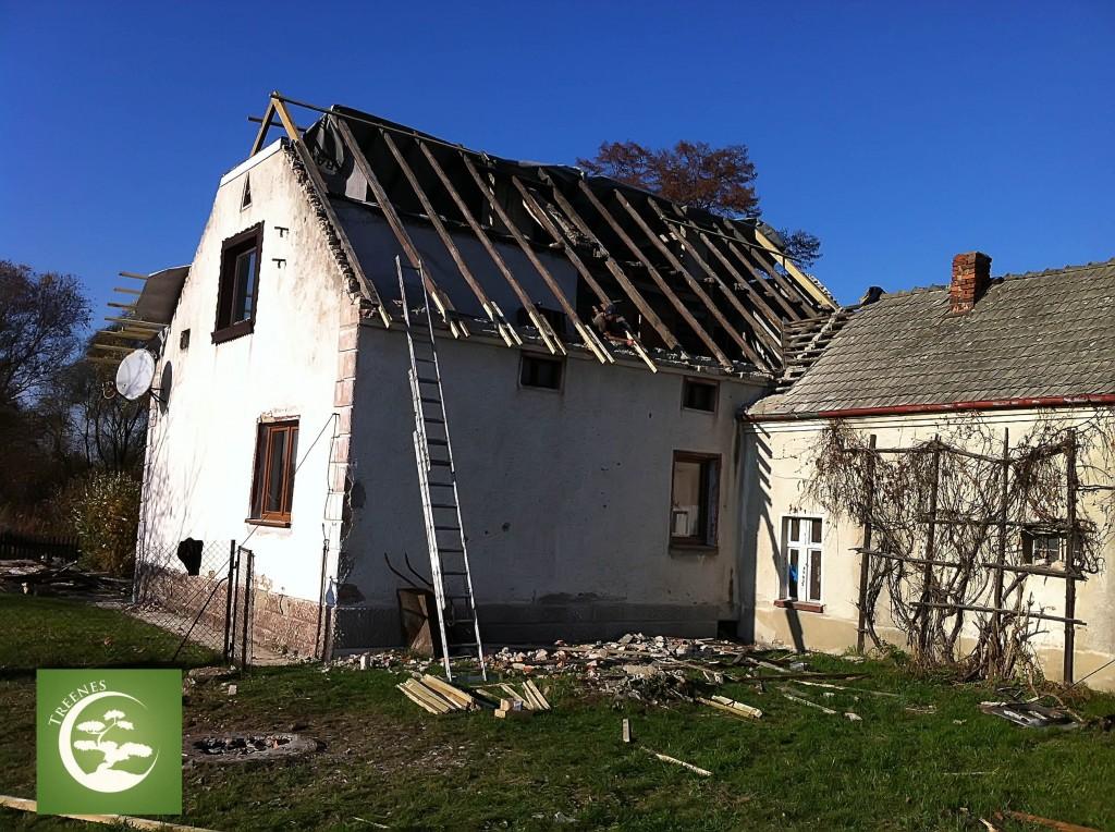 Wymieniamy dach na nowy