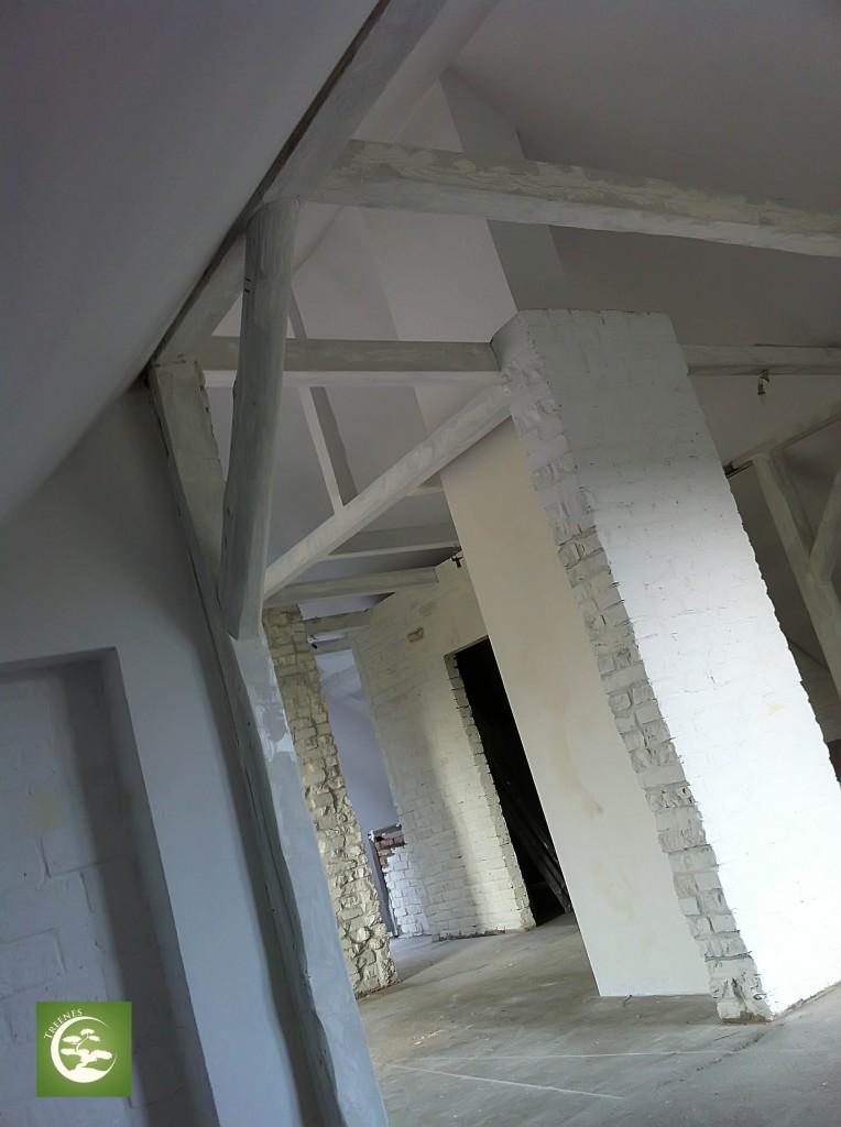 Ładne wnętrza remont starego domu i poddasza