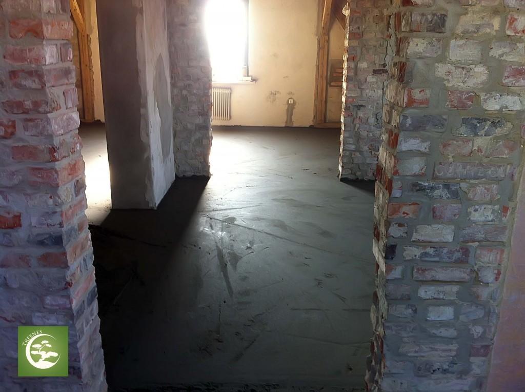 Wylewka na podłogę pod ogrzewanie podłogowe