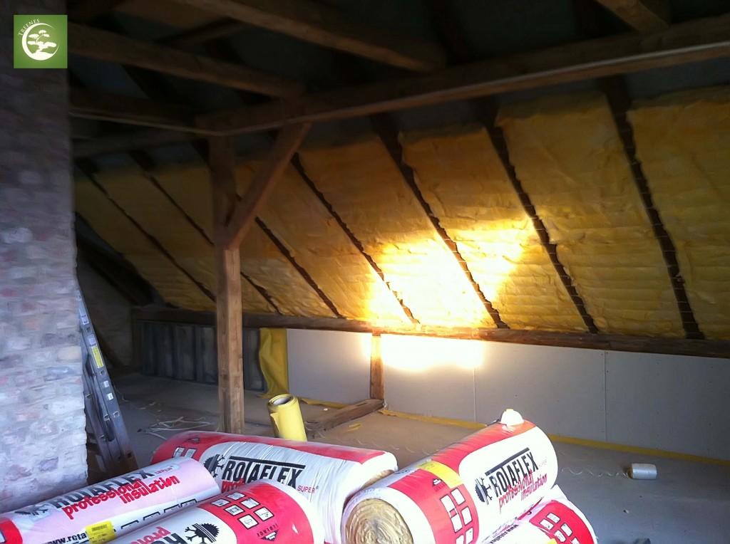 jak ocieplic stary dach